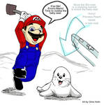 super mario spoof
