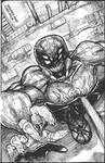Spidered man