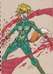 Originals Jean bloodsplat by ChrisHolm