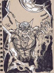 Scary Werewolf by ChrisHolm
