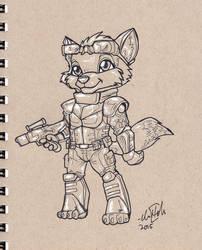 Furvilla Dog Soldier by ChrisHolm