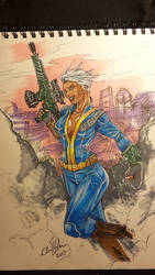 fallout player one by ChrisHolm