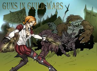 Guns in Guild Wars by ChrisHolm