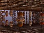 Hanging baskets - pong016