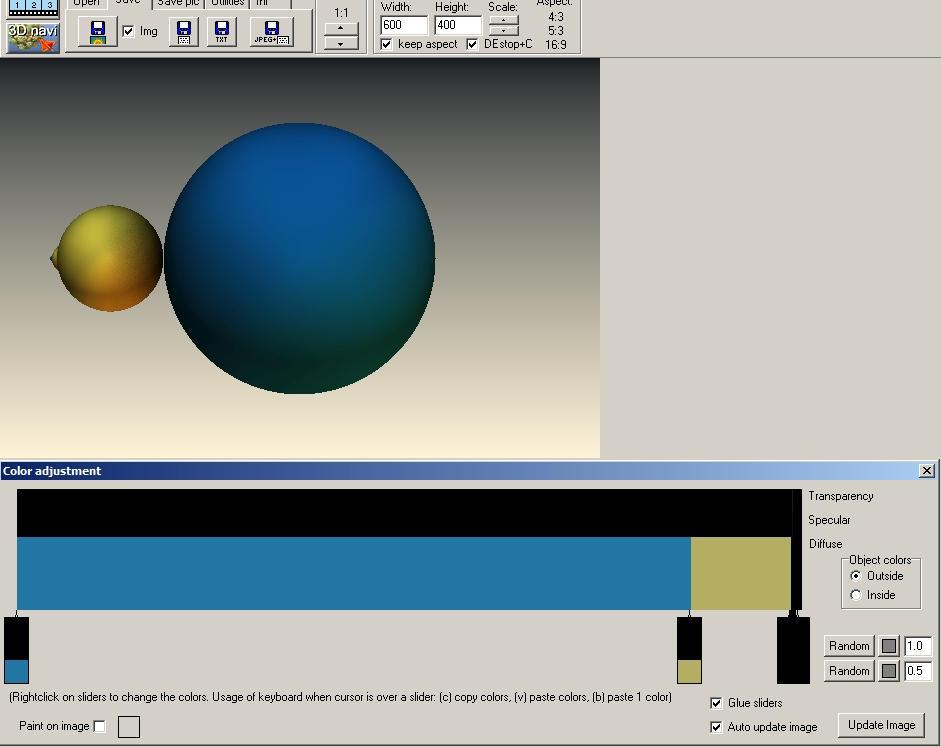Colour adjustment by Sabine62