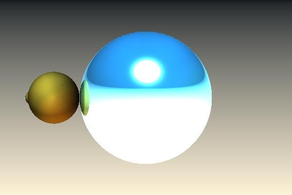 Blauw Geel Na Refl 1 by Sabine62