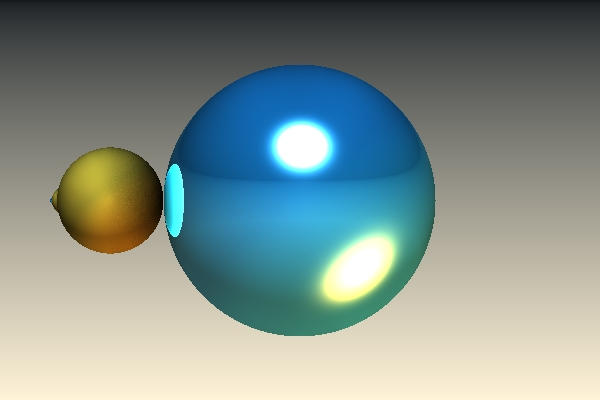 Blauw Geel Na Refl 0.3 Light Scattering 100 by Sabine62
