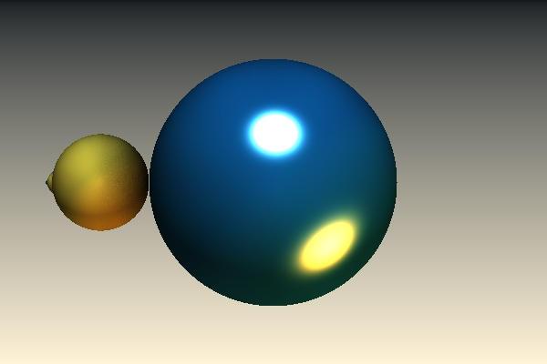 Blauw Geel Kleur Spec Colour Changed by Sabine62
