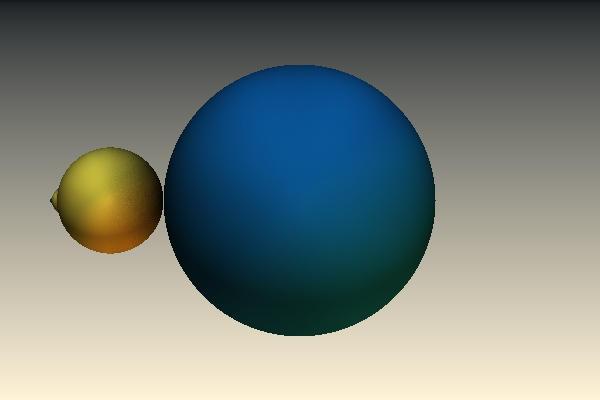 Blauw Geel Kleur Moet Nog by Sabine62