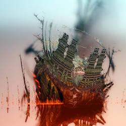 BurningBuffaloBulbShipThingy by Sabine62