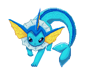 Vaporeon pixelart by Mi8Am