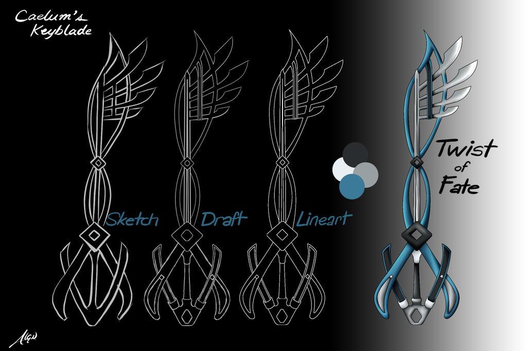 Keyblade: Twist of Fate by Acquia