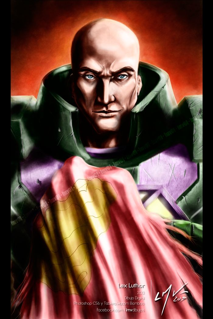 Lex Luthor By LMV01 by lmv01