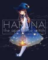 Haruna (apprentice witch design) by KumagamiHaruna