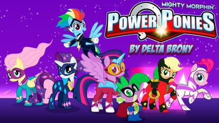 [MMPR x MLP FiM] Mighty Morphin' Power Ponies by DashieMLPFiM