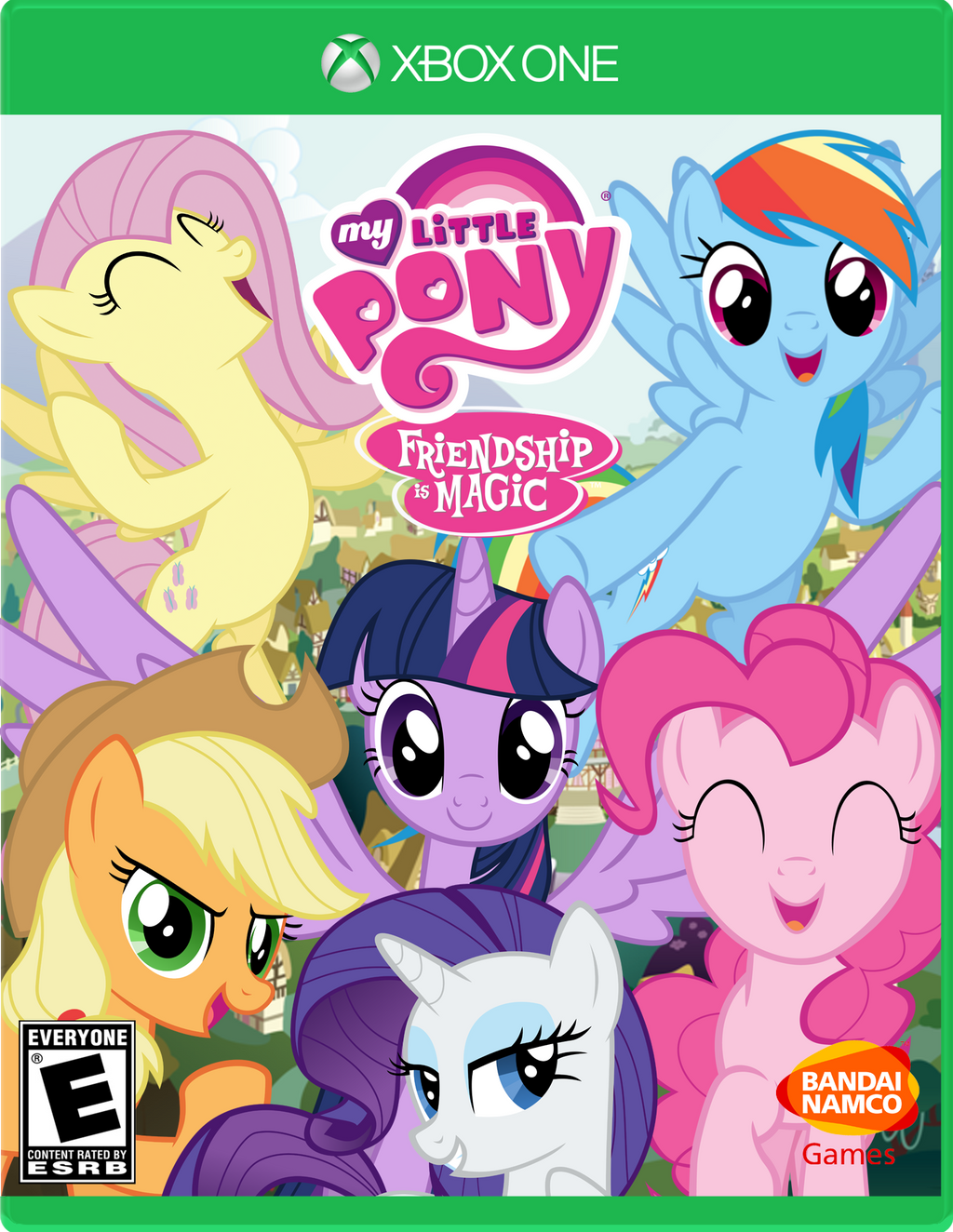 Hasbro decides to make a My Little Pony video game.