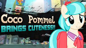 Super Smash Ponies New Challenger: Coco Pommel by DashieMLPFiM