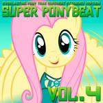 Super Ponybeat Vol. 4 Album Art - Fluttershy by DashieMLPFiM