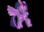 Musical Alicorn Twilight Sparkle by DashieMLPFiM