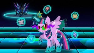 Princess Twivine and The Elements of Harmony