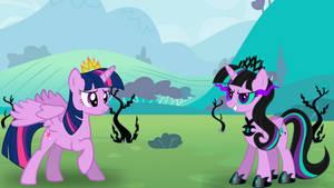Twilight's First Battle with Twivine Sparkle