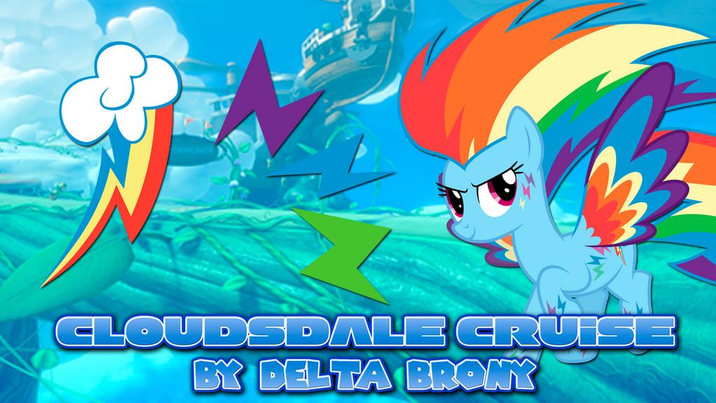[MLP x Mario Kart] Cloudsdale Cruise by DashieMLPFiM