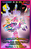MLP FiM Movie Poster - The Rainbow of Harmony by DashieMLPFiM