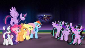 Fighting Twivine Sparkle Team