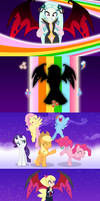 Princess Dark Matter's Defeat