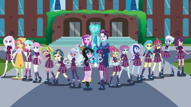 The Girls of Crystal Prep Academy