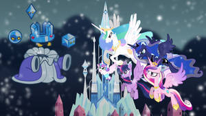 Alicorn's Battle With The Crystal King by DashieMLPFiM