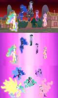 Royal Alicorn Power Transformation