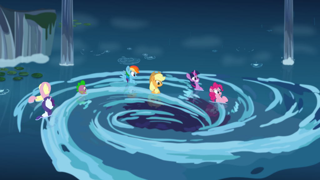 MLP The Movie] The Whirlpool to Seaquestria by DashieMLPFiM on ...