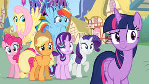 Twilight Sparkle Introduces her Friends