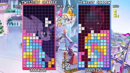 My Little Tetris (Twilight vs. Tempest) by DashieMLPFiM