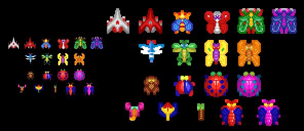 Galaga (32-Bit Style)