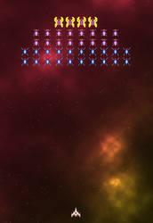 New Galaga Species in the Nebula