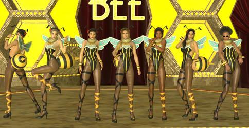 [XPS] FFVII Remake - Honey Bee Inn Girls