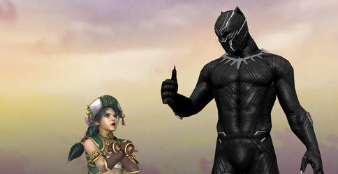 Talim Salutes to Black Panther