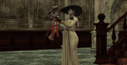 Talim and Lady Dimitrescu Finally Meet