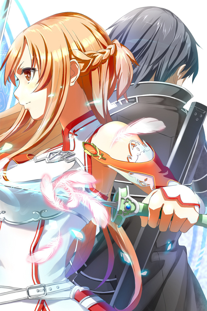 Sword Art Online Asuna Kirito Iphone Wallpaper By Streeteelf On Deviantart