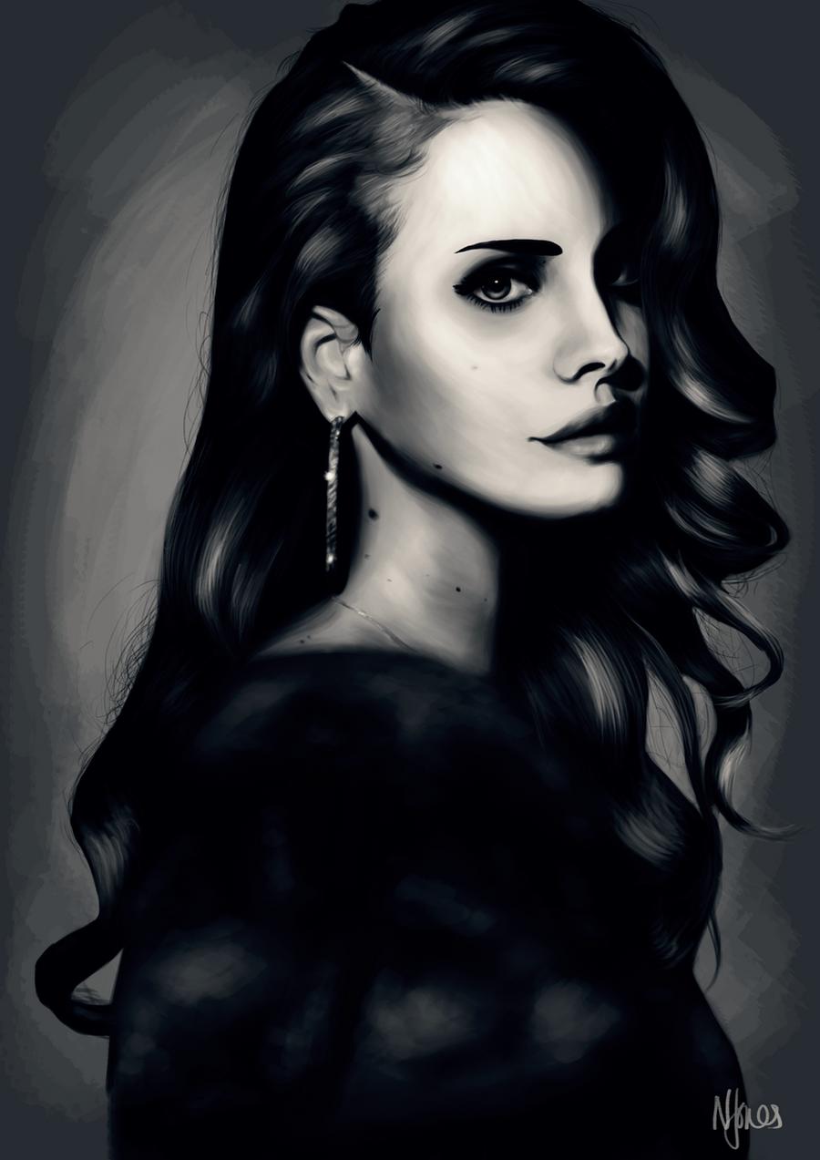 Lana Del Rey by nichelenjones