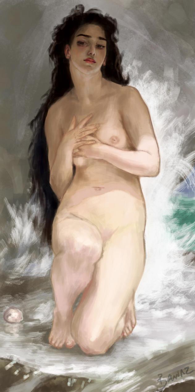 Bouguereau Study 2 by nichelenjones