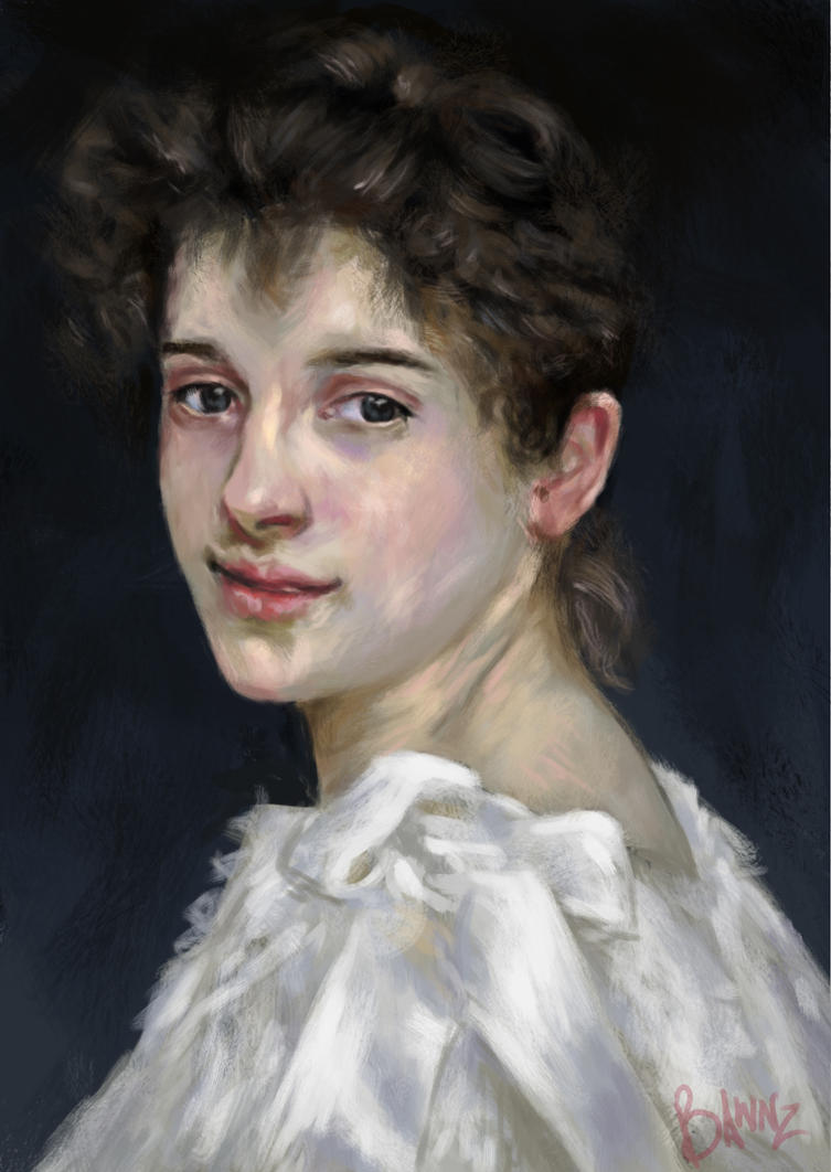 Yet Another Bouguereau Study by nichelenjones