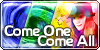 come one come all logo by gamebalance