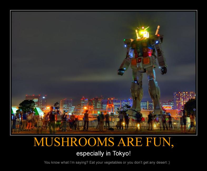 Mushrooms are fun by gamebalance