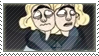 twins stamp by cinsaut
