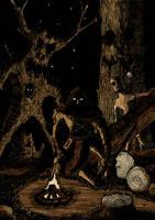 Woodcutter by hellduriel