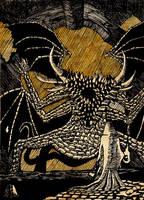 Dark Souls  Gaping Dragon by hellduriel
