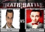Death Battle Mr Bean Vs  Pee Wee Herman